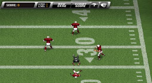 Play return man 2 and become the star player in the football field